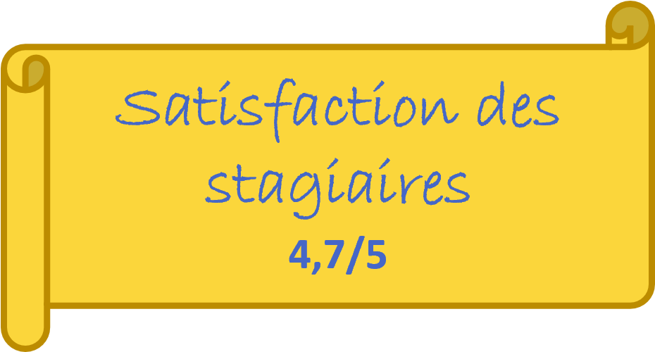 Note satisfaction stagiaires